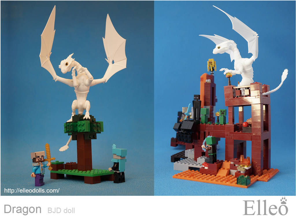 Dragon Bjd Doll 05 by leo3dmodels