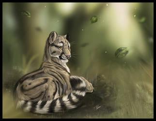 Clouded Leopard fini by daisy7