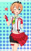 Love Live : Hoshizora Rin by Artemisumi