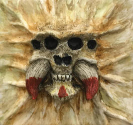 Skull - Spider 3 by WireClay