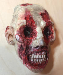See No Evil - Painted 2 by WireClay