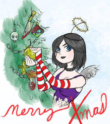 Merry Xmas quick card by emstone