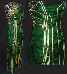 circuit board dress by emstone