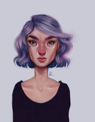 Krita Painting- Time by sarucatepes