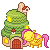 FREE Fluttershy House CAEK by happy-gurl