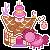 FREE Pinkie Pie House CAEK by happy-gurl