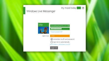 Metro Windows Live Messenger by Superharas