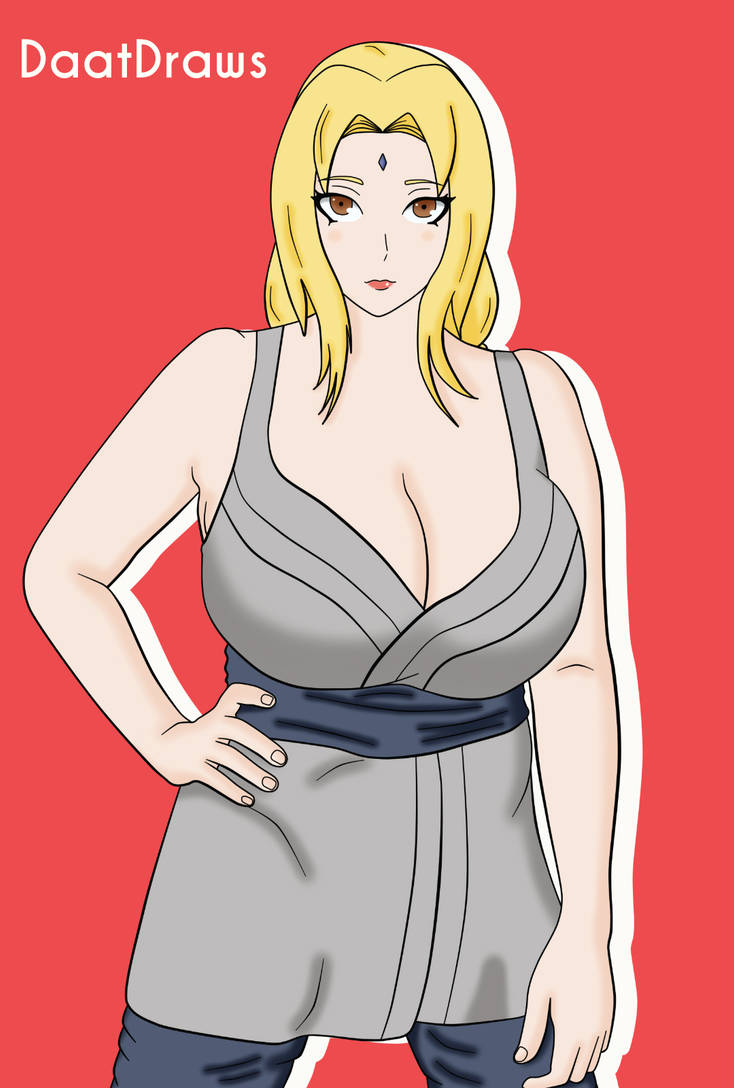 Naruto Lady Tsunade By Daatdraws On Deviantart
