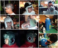 Megaman Helmet by experimettle