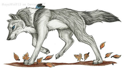 Running is the best way to escape .:G:. by RedSoulWolf13