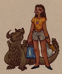 dragon groceries by Rachi-the-Great