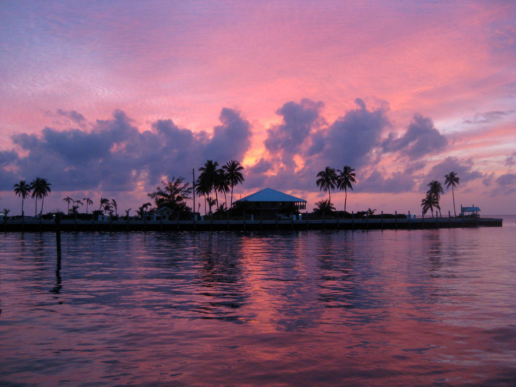 Caribbean Sunset by Zorraire