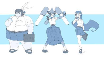 School Girls by Jeetdoh
