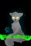 ShadowDoggy logo [G] by DMC-CorbeauNoir