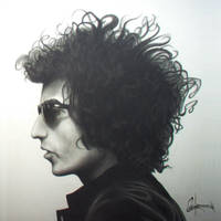 Bob Dylan by Cowden