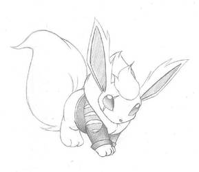 NOD's Flareon by demented1