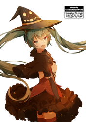 Hatsune Miku Halloween [Render #1] by OnlyRendersII