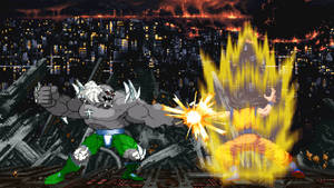 Doomsday vs Goku by scott910