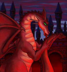 Naughty Dragon by Vizcexa