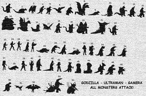 ALL MONSTERS ATTACK by gojira92