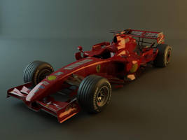 Ferrari F2007 by jesterv2