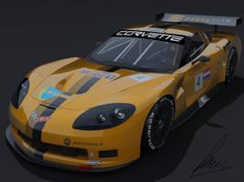 Chevrolet Corvette C6-R by jesterv2