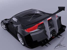 Honda HS-V 010 Rear by jesterv2