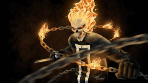 Robbie Reyes Ghost Rider - Agents of S.H.I.E.L.D. by jaopicksart