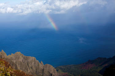 Kauai rainbow by JHealphoto