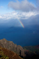 Kauai rainbow2 by JHealphoto