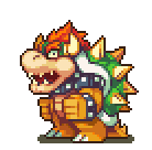 Bowser Sprite by Neoriceisgood