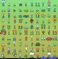 100 Flower Sprites by Neoriceisgood