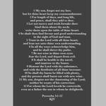 Proverbs 3:1-12 KJV by CreativeChristianity