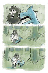 The Woodsman Page 6 by lookhappy