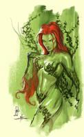 Poison Ivy Fanart by MAROK-ART