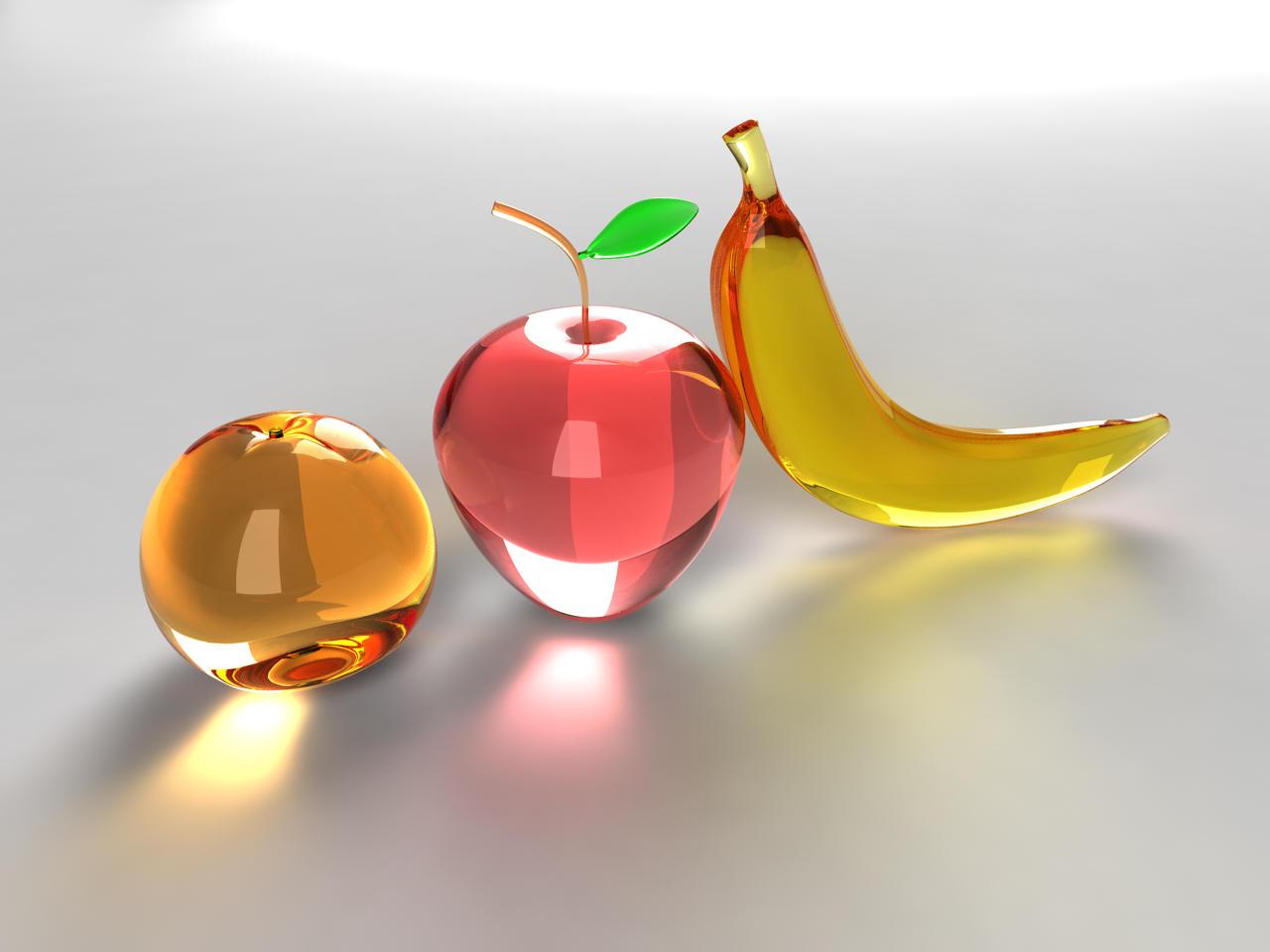 orange apple banana by DivineError