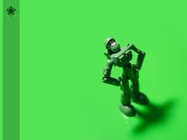 Green on Green by DivineError