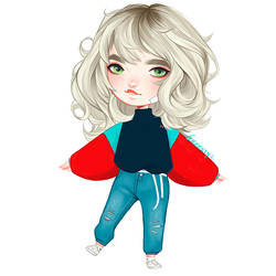Chibi Emilia by Greesty
