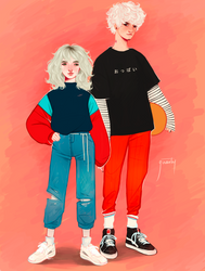 Emilia and Daniel by Greesty