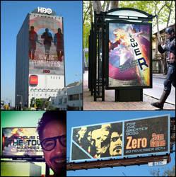 Billboard Mosaic by nottonyharrison