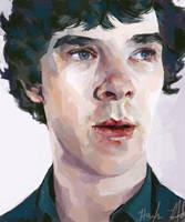 Sherlock Portrait by chunkymacaroni