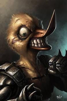 Rubber Ducky the Cyborg by Jackal0fTrades
