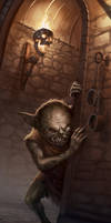 Blink the Undead Goblin by Jackal0fTrades