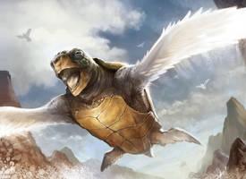 Turtle Dove by Jackal0fTrades