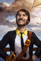 The Penguin Pirate Captain by Jackal0fTrades
