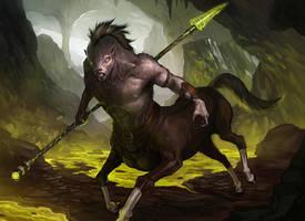 Blighted Centaur by Jackal0fTrades