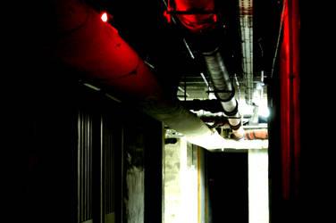 Dark corridor by nexus06