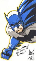 Aaron Sowd - Batman by Club-Batman