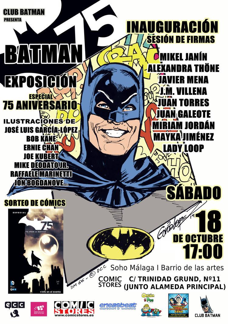 Poster Batman 75 by Club-Batman