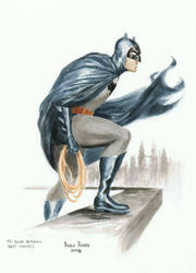 Paolo Rivera Club Batman 2008 by Club-Batman